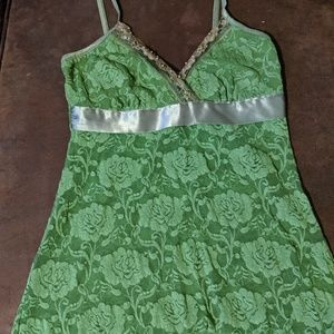 Lace tank top- sz Med